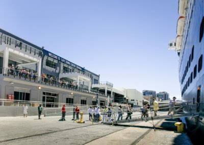 Cape Town Cruise Terminal / Photo Credit: V&A Waterfront