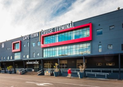 Cape Town Cruise Terminal, Passenger Terminal refurbishment at E-berth, V&A Waterfront