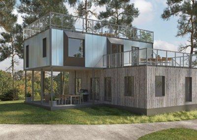 Flexihuis Flatpack Housing
